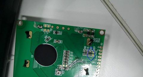 Graphic LCD12864 Driver ST7920 xanh dương