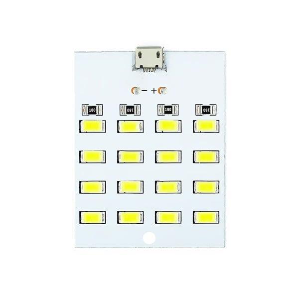 Mạch 16 Led siêu sáng USB