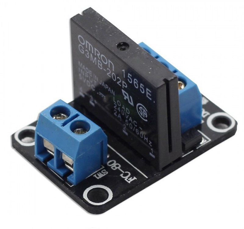 Mạch 1 Chanel Solid State Relay (SSR) 2A/240VAC
