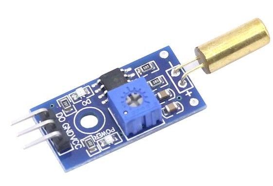 Mạch cảm biến góc nghiêng tilt sensor SW520