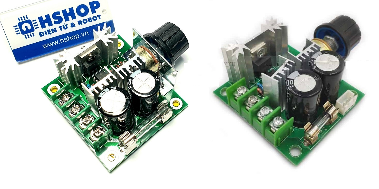 Mạch điều khiển tốc độ động cơ PWM DC Motor Speed Controller 10A