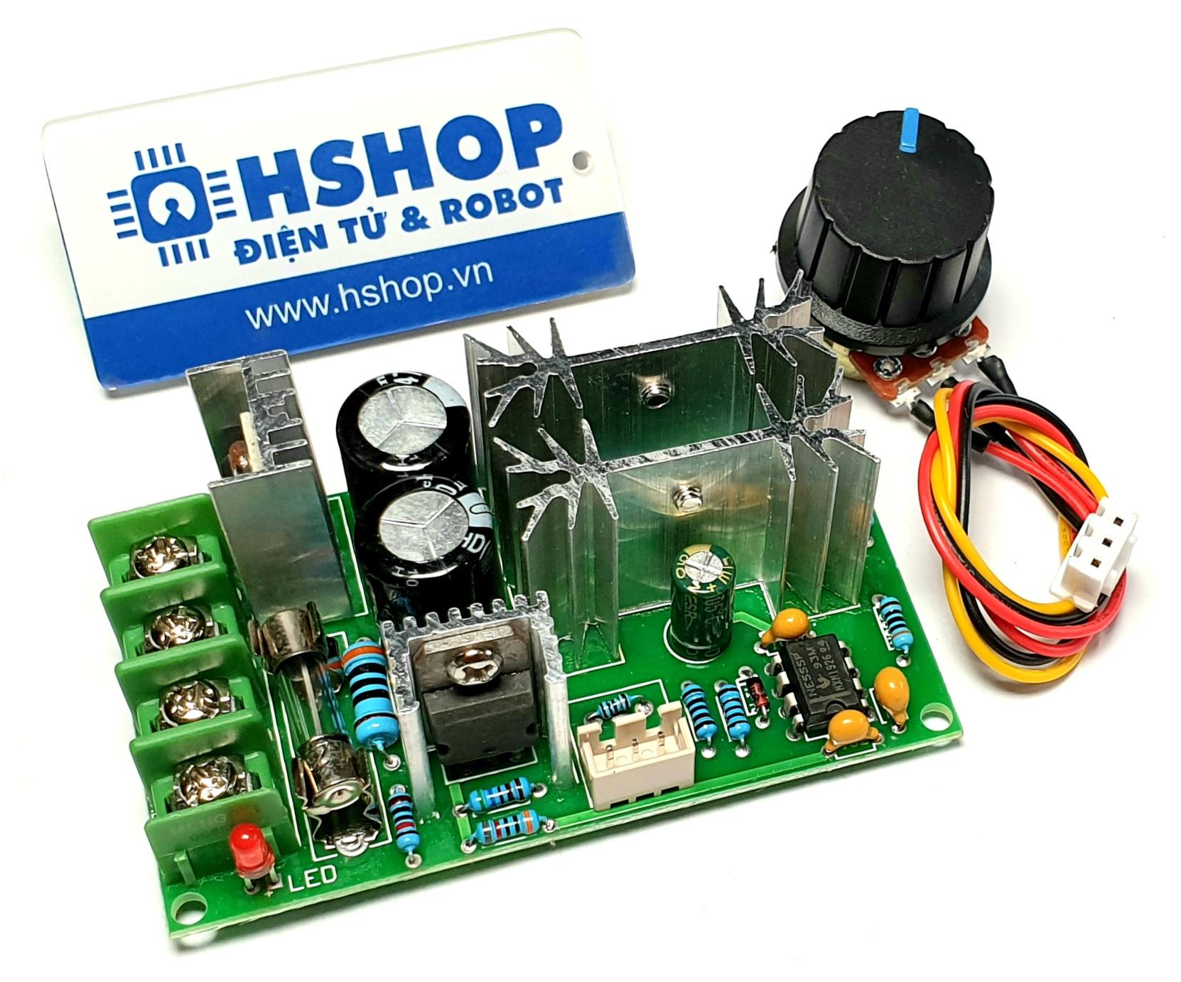 Mạch điều khiển tốc độ động cơ PWM DC Motor Speed Controller 20A