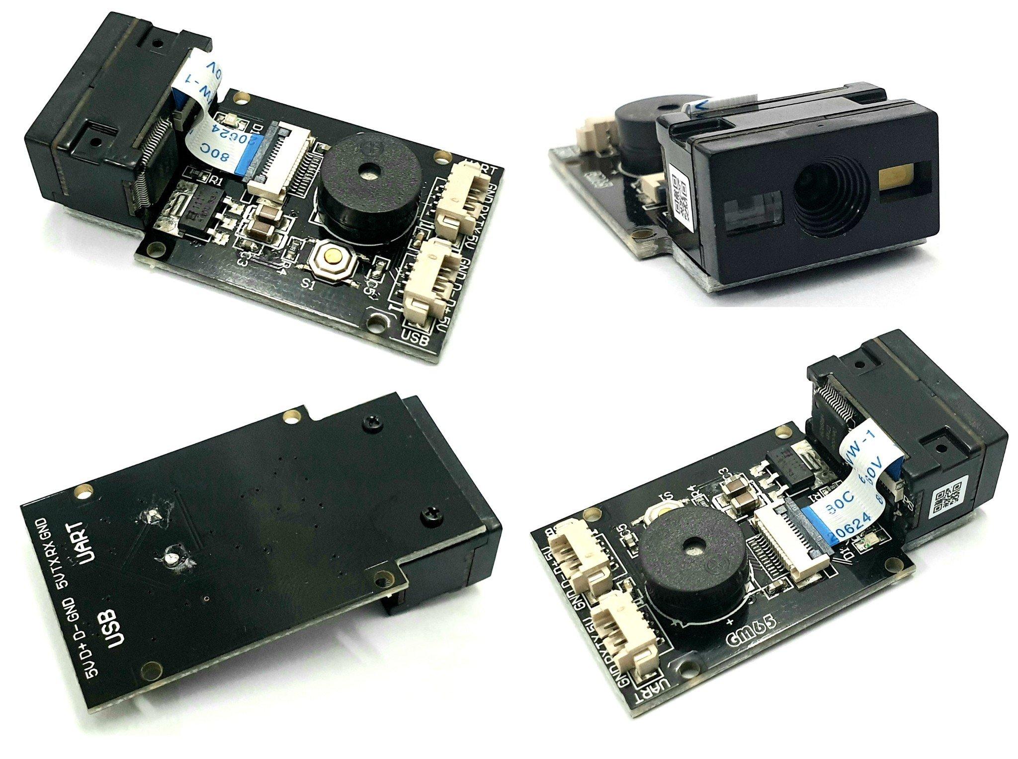 Mạch đọc mã vạch GM65 1D 2D QR Barcode Reader Module