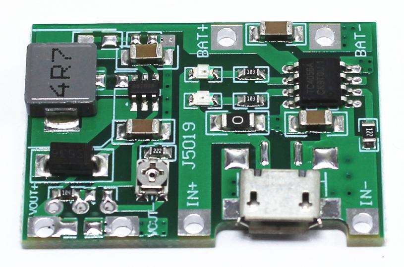 Mạch sạc pin Lithium và cấp nguồn DC J5019