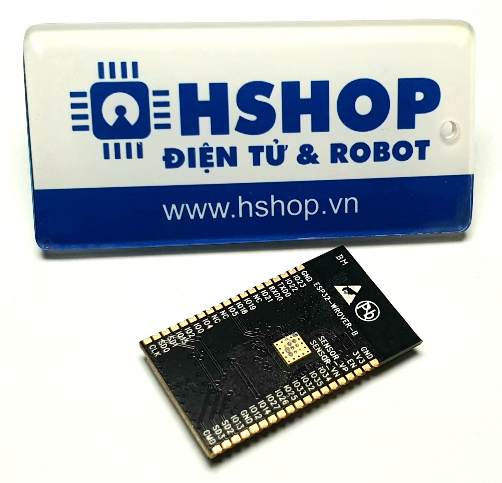 Mạch thu phát Wifi BLE SoC ESP32 ESP32-WROVER