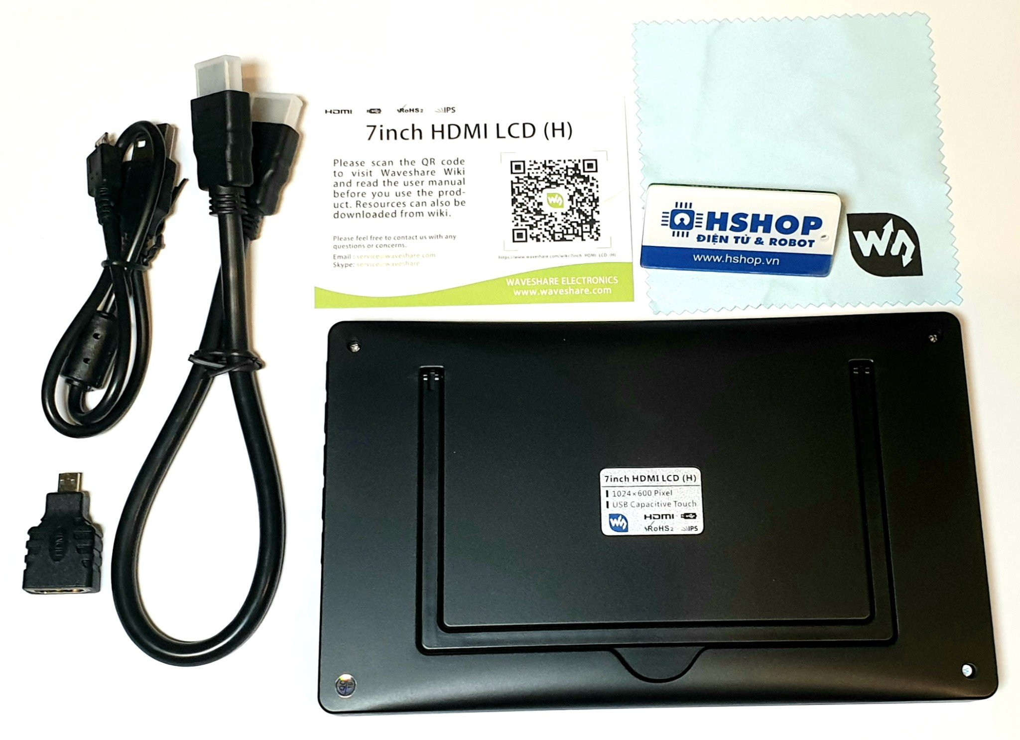 Màn hình Waveshare 7inch HDMI Capacitive Touch Screen LCD (H)