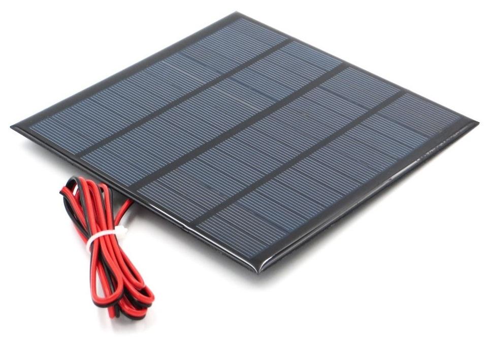 Pin Năng lượng mặt trời Solar Panel 12V 3W – Hshop.vn