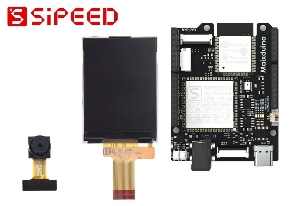 Sipeed Maixduino Kit K210 RISC-V Dual Core 64-Bit + Wifi BLE ESP32 AIoT
