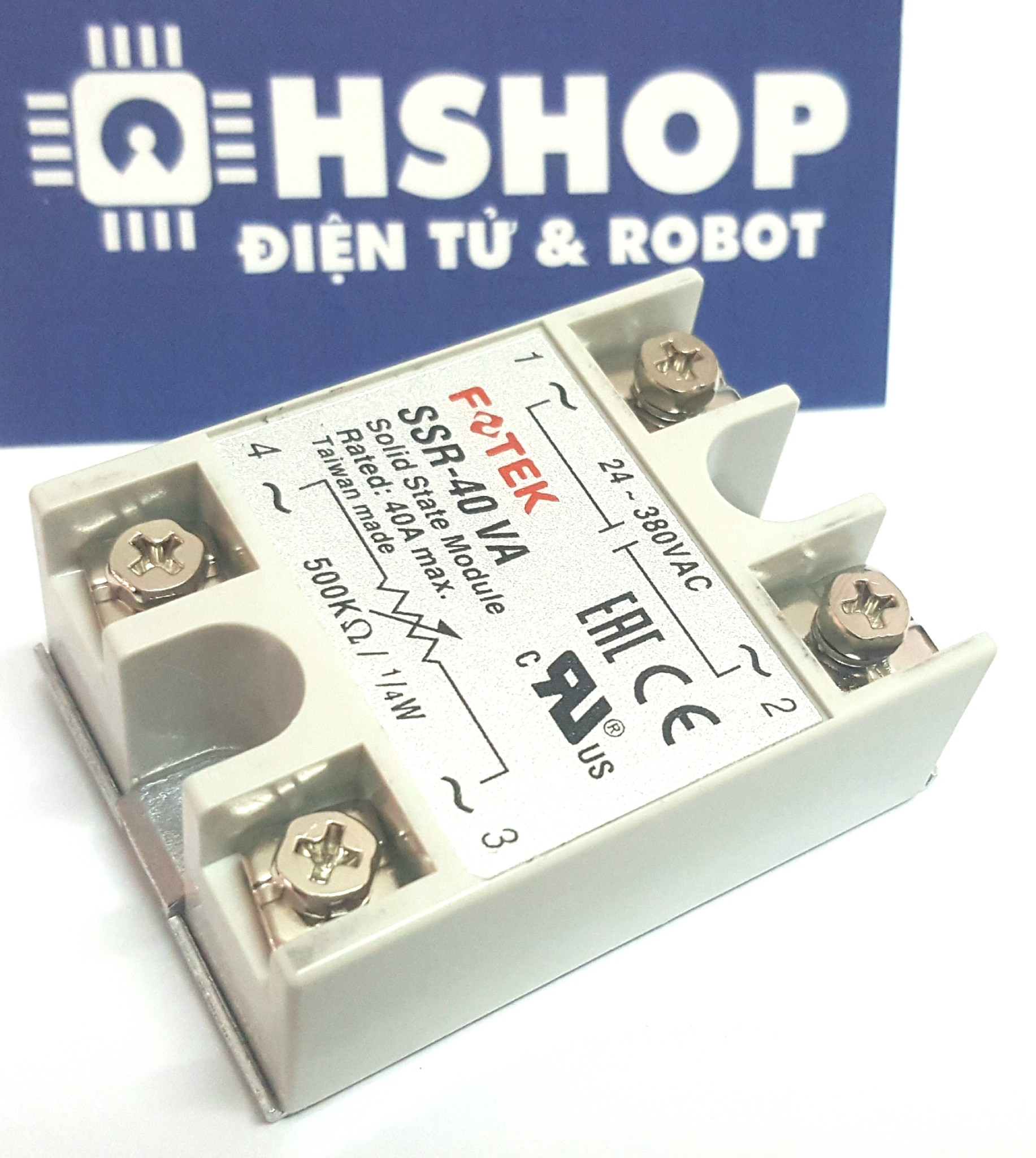 Solid State Relay Ssr 40 Va Fotek Chnh Hng In T Youtube Try Watching This Video On Youtubecom Or Enable Javascript If It Is Disabled Your Browser