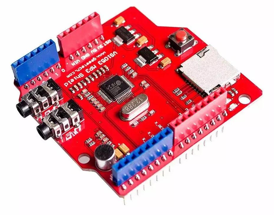 Arduino MP3 Shield VS1053