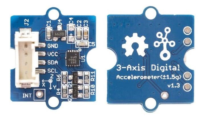 Grove - 3-Axis Digital Accelerometer(±1.5g) (Cảm biến gia tốc 3 trục)