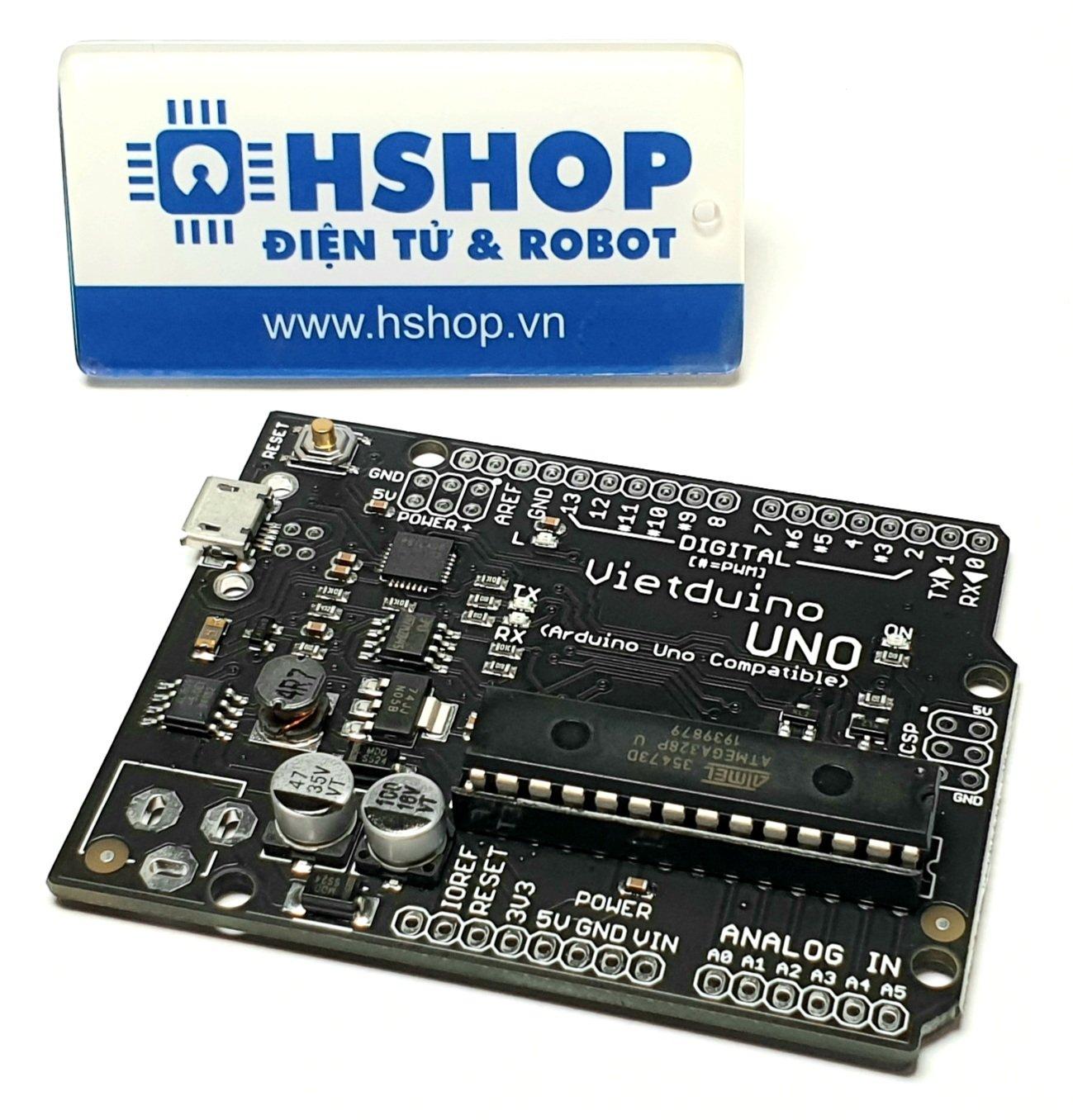 Vietduino Uno (Arduino Uno Compatible)