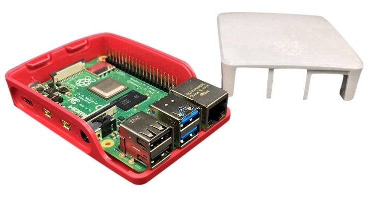 Vỏ Case Raspberry Pi 4 Official