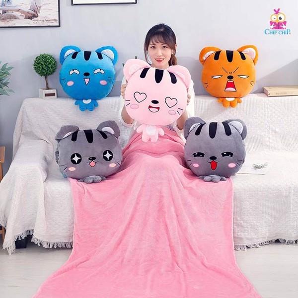 Gối mền mèo 40cm