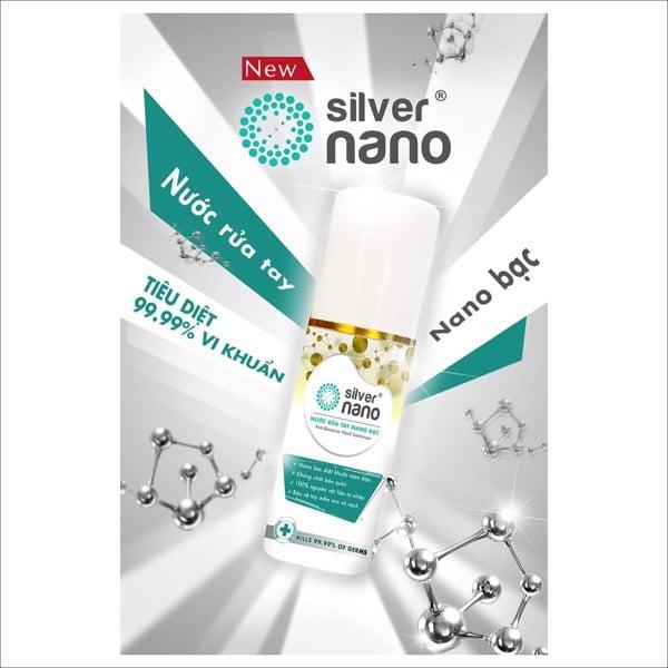 Nước rửa tay nano bạc