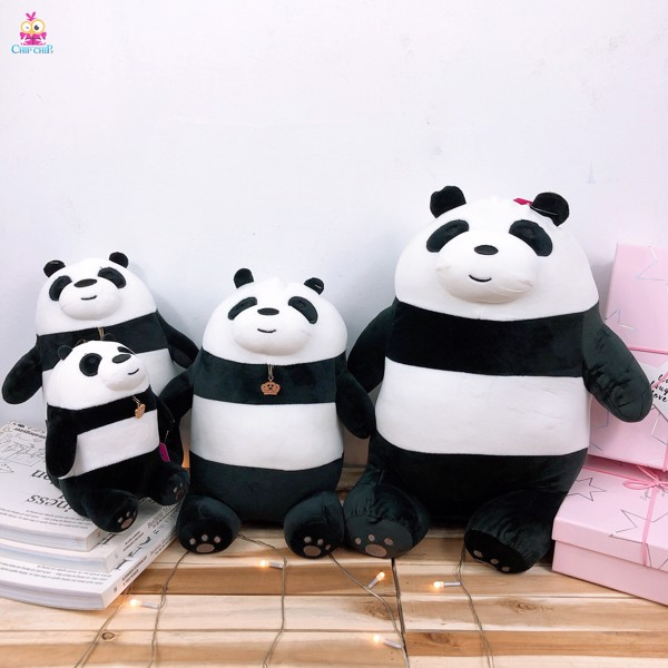 Gấu panda ngồi mịn