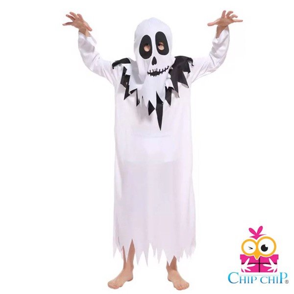 bộ hooded robe ghost B0162