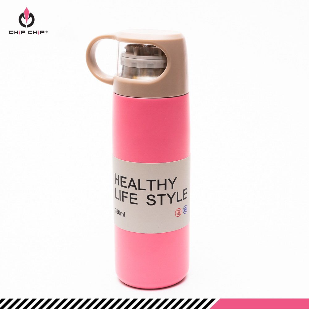 Bình giữ nhiệt Healthy Life Style nắp ly