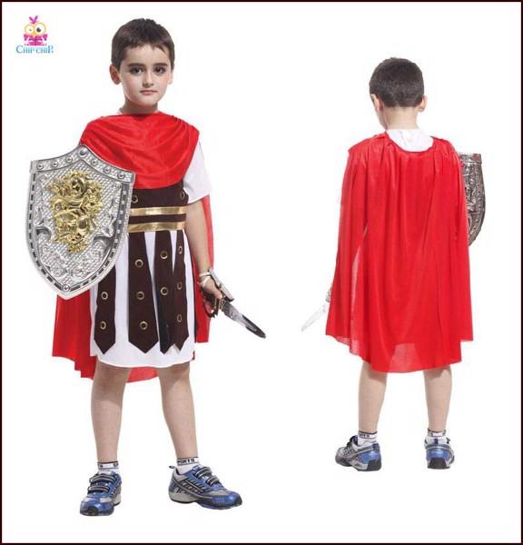 Bộ đồ roman warrior bé trai