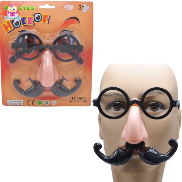 Bộ kính mũi râu horror