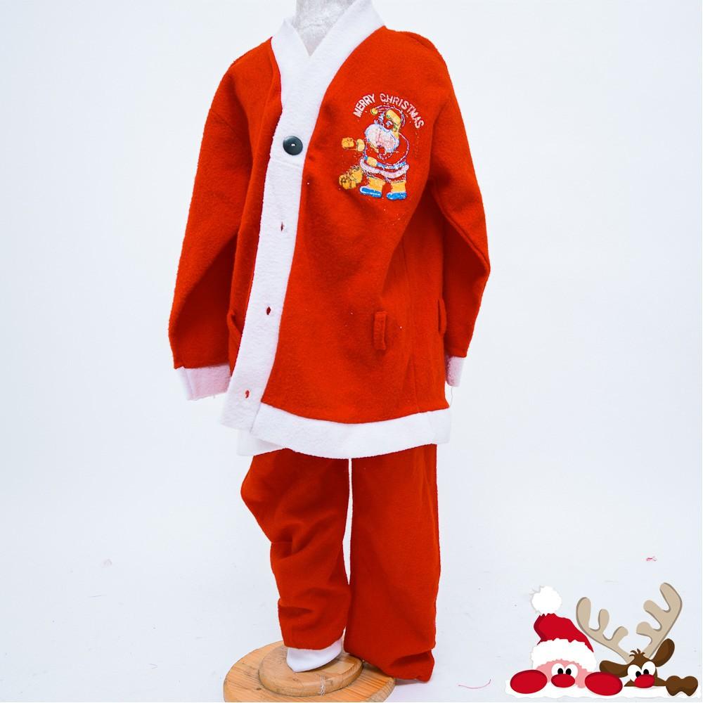 Bộ Noel nam hình ông già trang phục Noel trẻ em