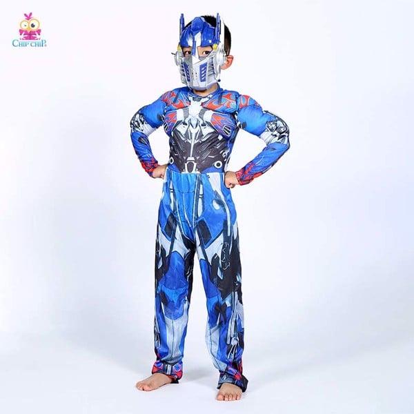 Bộ phồng người máy xanh