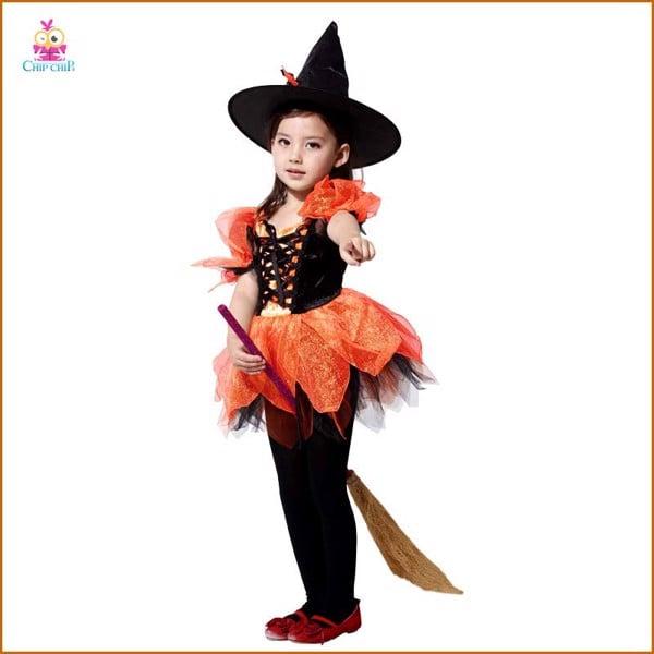 Bộ phù thủy ba lê bé gái