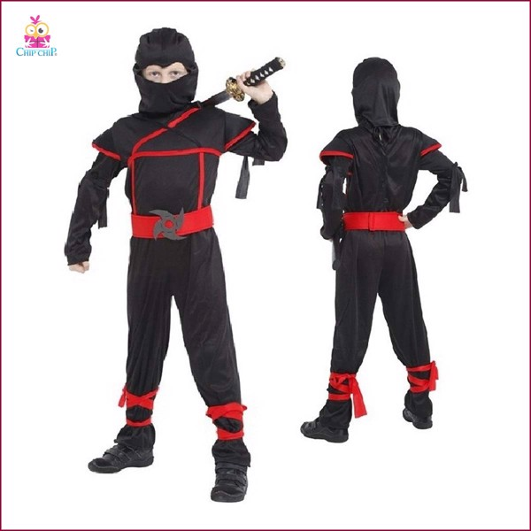 Bộ stealtf ninja bé trai