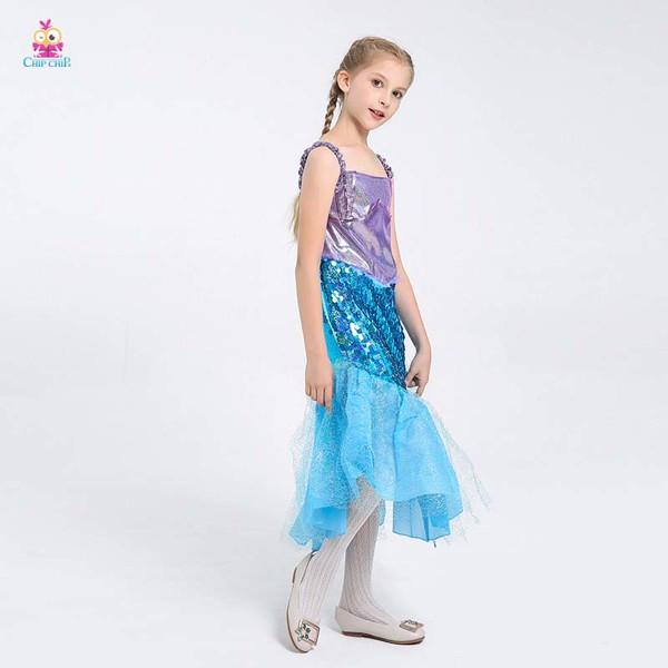Váy Nàng Tiên Cá trẻ em