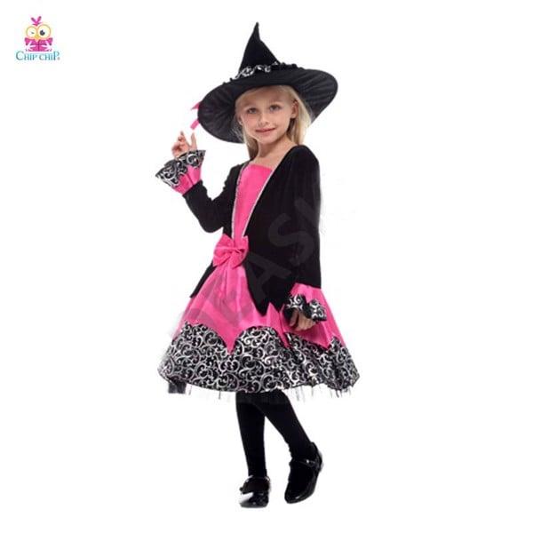 Bộ váy dulexe witch girl bé gái