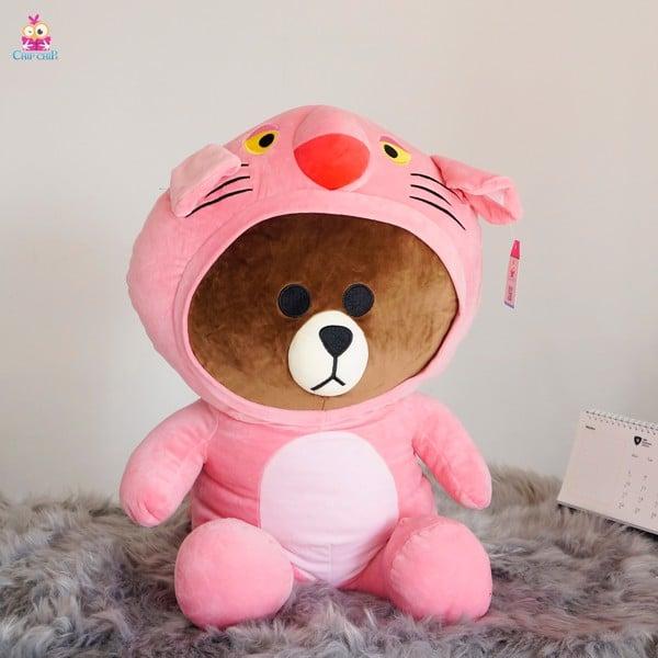 Brown áo báo hồng 60cm