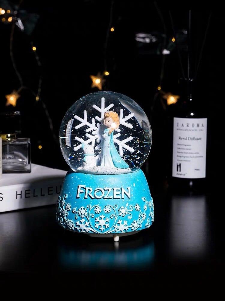 Quà tặng Noel cầu nước lớn Elsa bông tuyết
