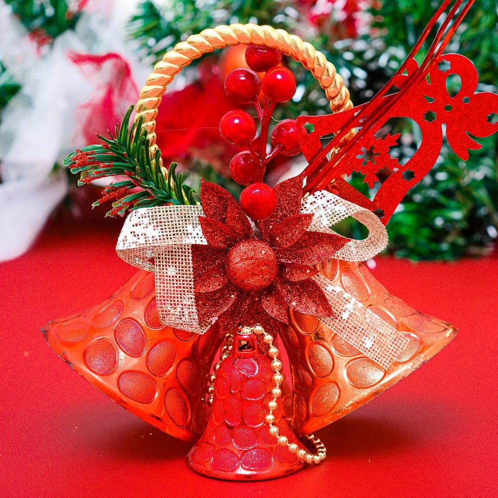 Chuông trái tuyết trang trí Noel