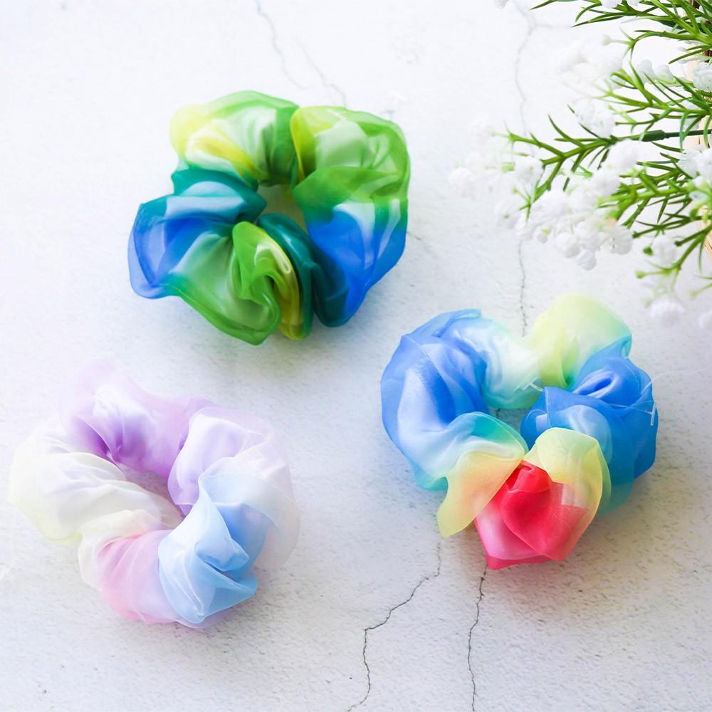 Dây buộc tóc scrunchies von 7 màu