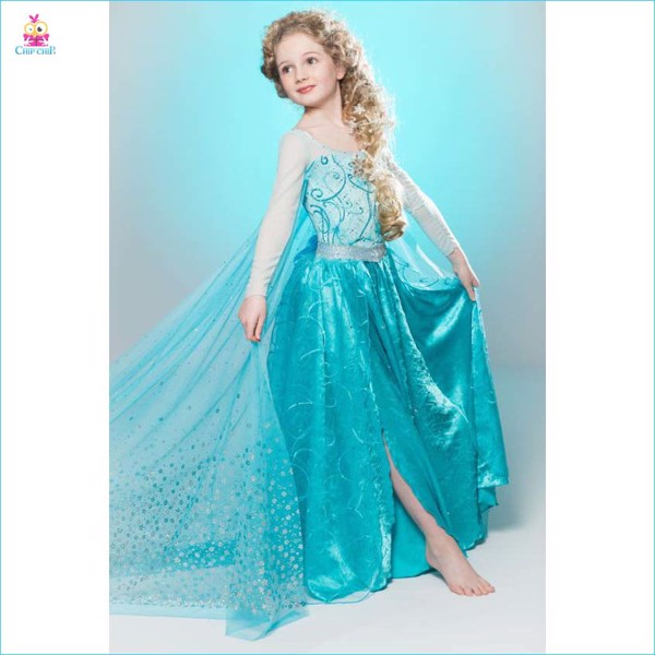 Đầm Elsa trẻ em