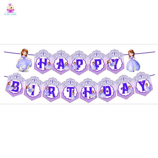 Dây happy birthday sofia