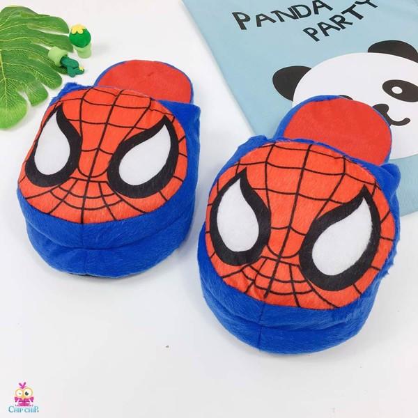 Dép bông spiderman