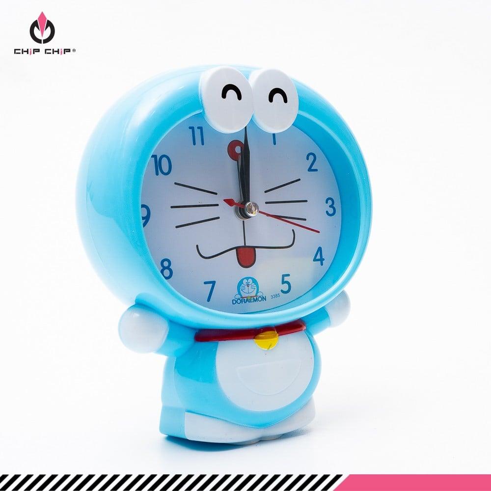 Đồng hồ báo thức Doremon đứng