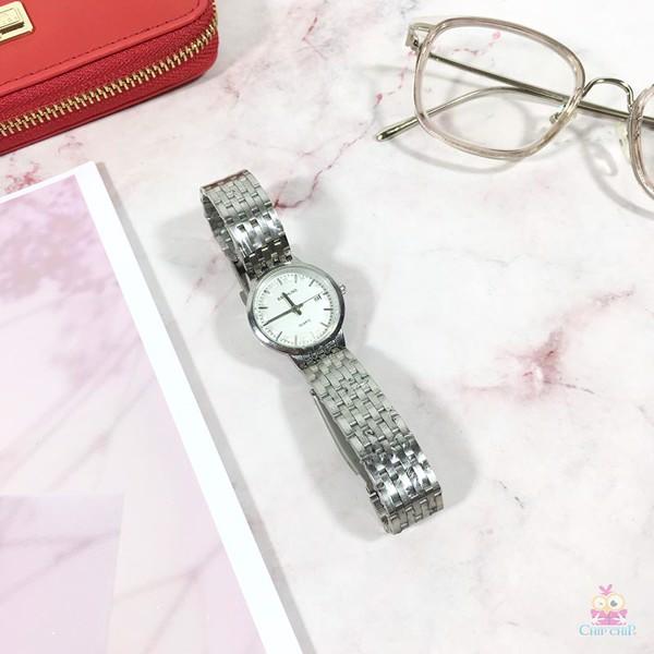 Đồng hồ nữ inox Baishuns