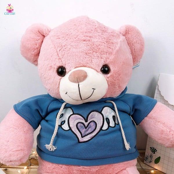 Gấu áo tim cánh 75cm