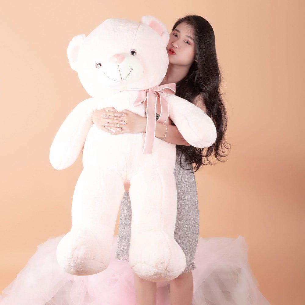 Gấu Teddy nơ ngực Take Away 105cm