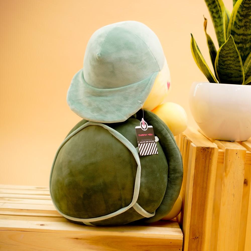 Gối mền rùa đội mũ 55cm