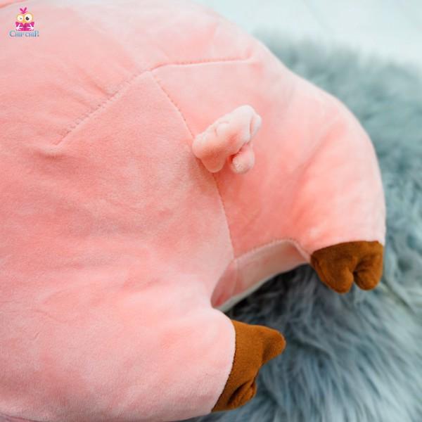 Gối mền heo love pig 40cm
