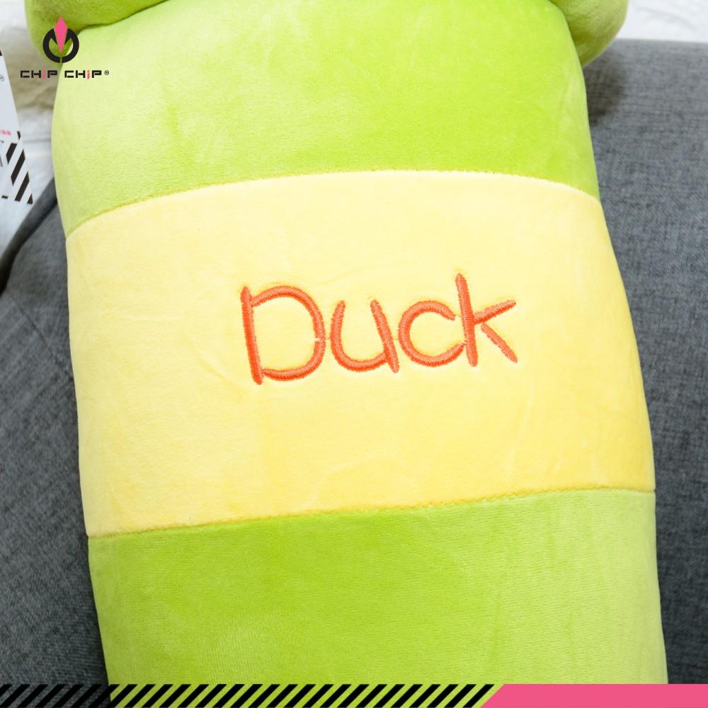 Gối ôm vịt Duck cam dâu 100cm