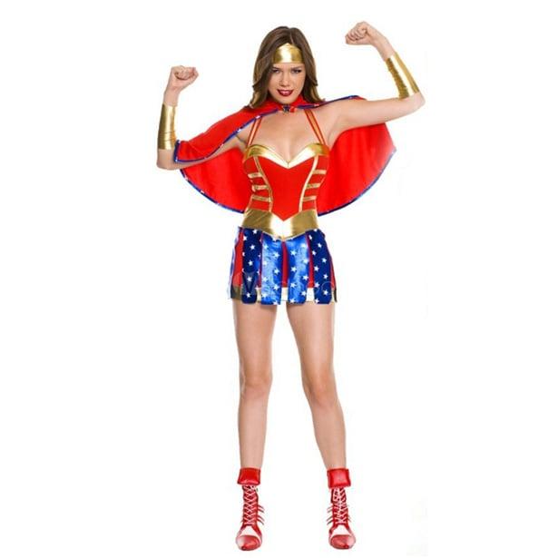 Trang phục hóa trang Halloween nữ chiến binh đỏ