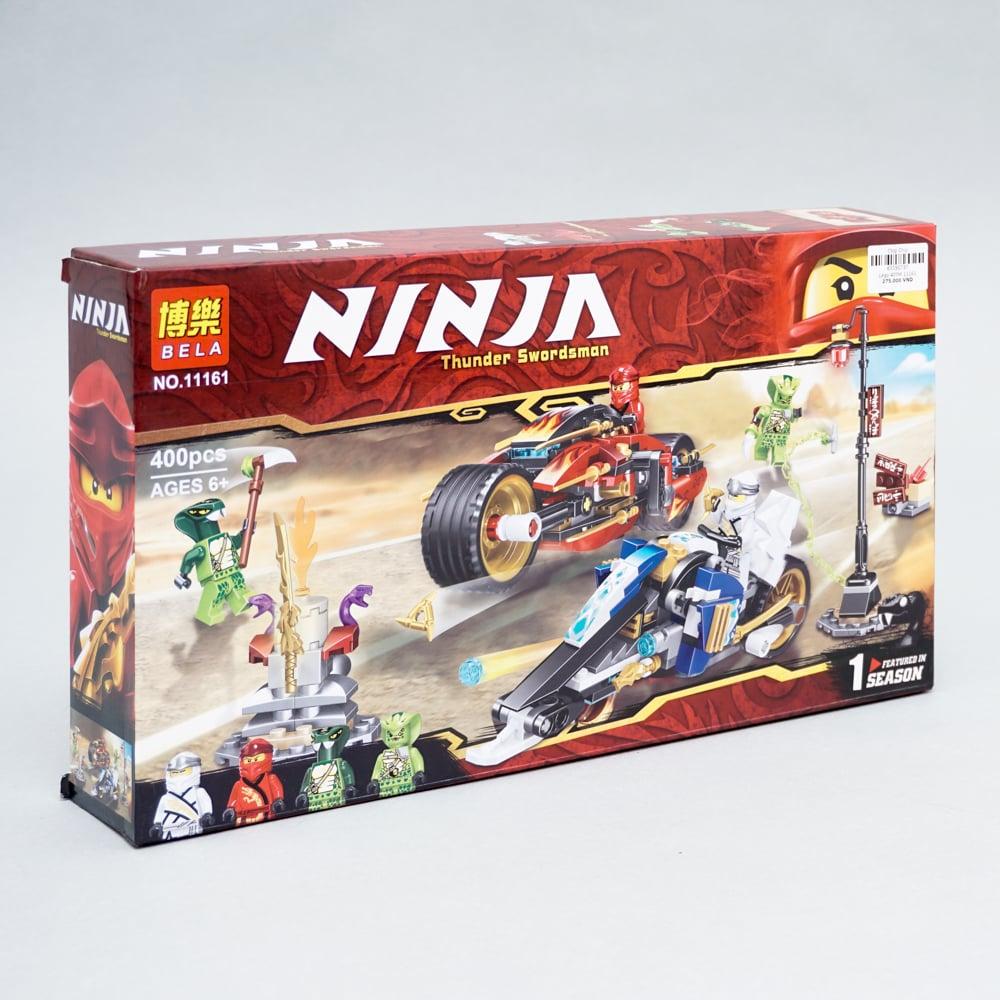 Đồ chơi bé trai bộ xếp hình Lego Ninja 230PCS
