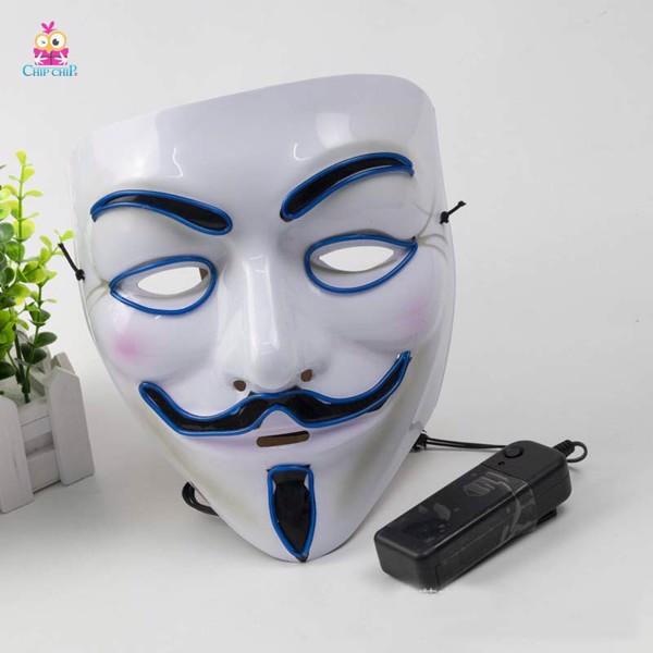 Mặt nạ hacker đèn