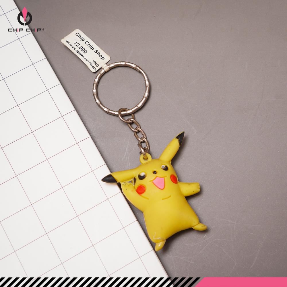 Móc khóa nhựa Pikachu