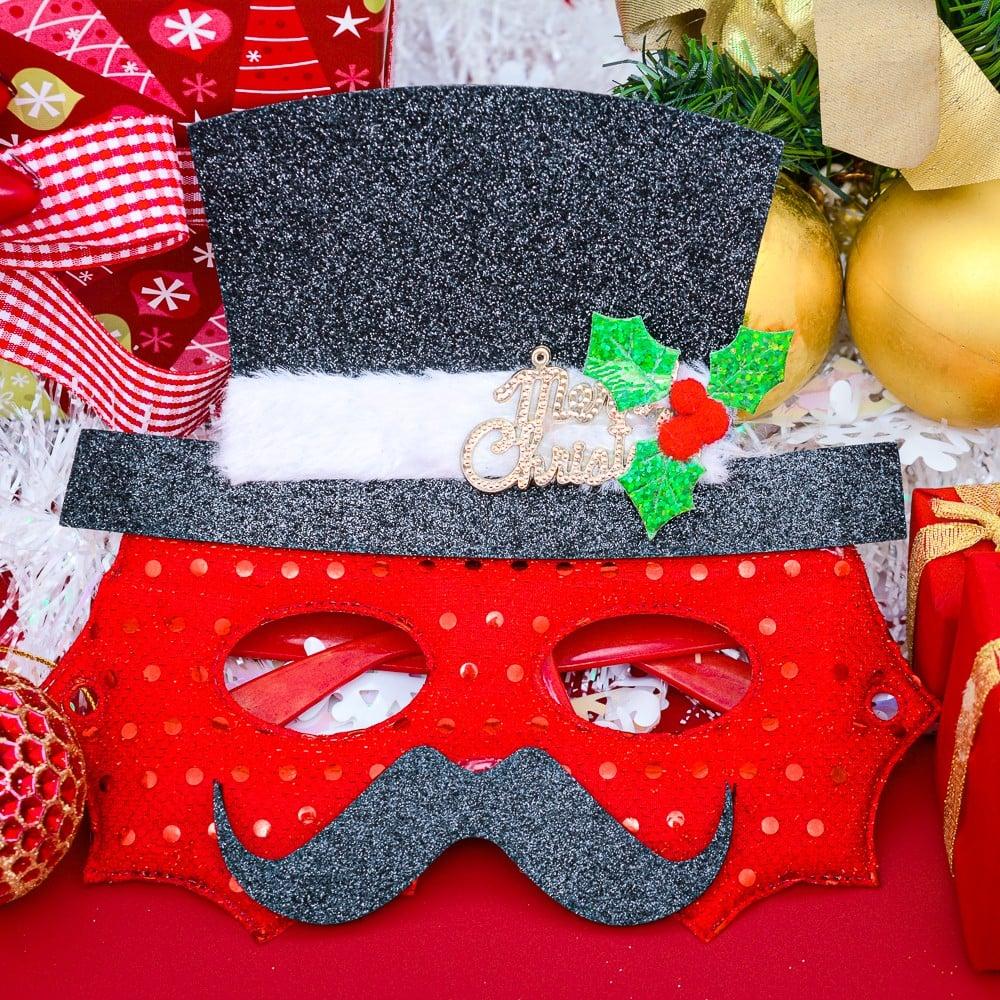 Mắt kính nón noel phụ kiện Noel