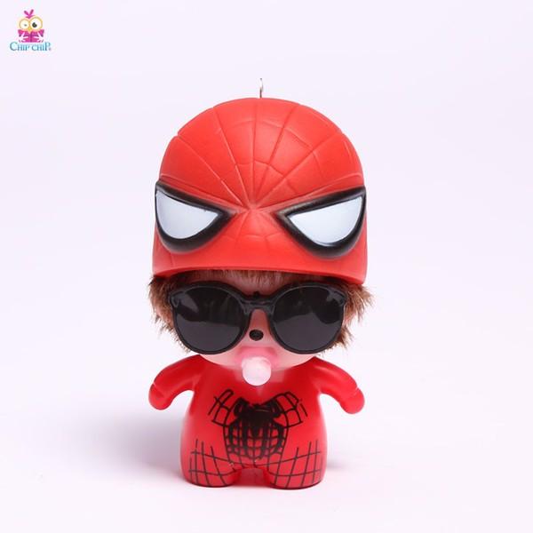 Móc khóa chuông bé nón nhện